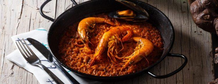 Comer arroz en Granada