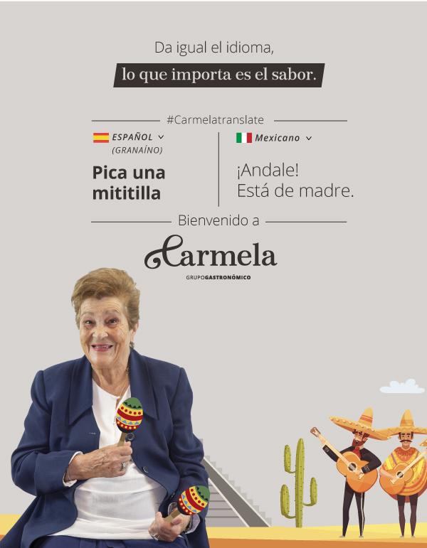 Comida Mexicana - Carmela Tour