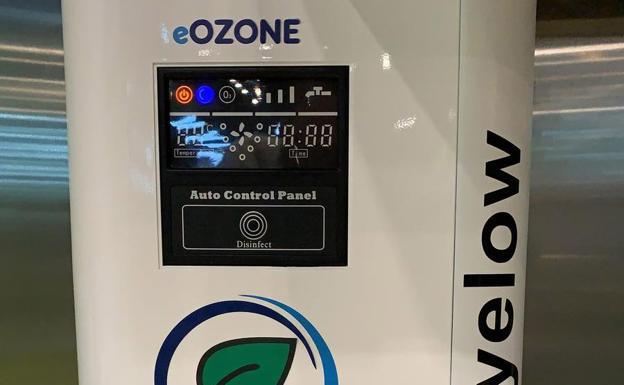 Gastronomía Sostenible - Máquina del ozono