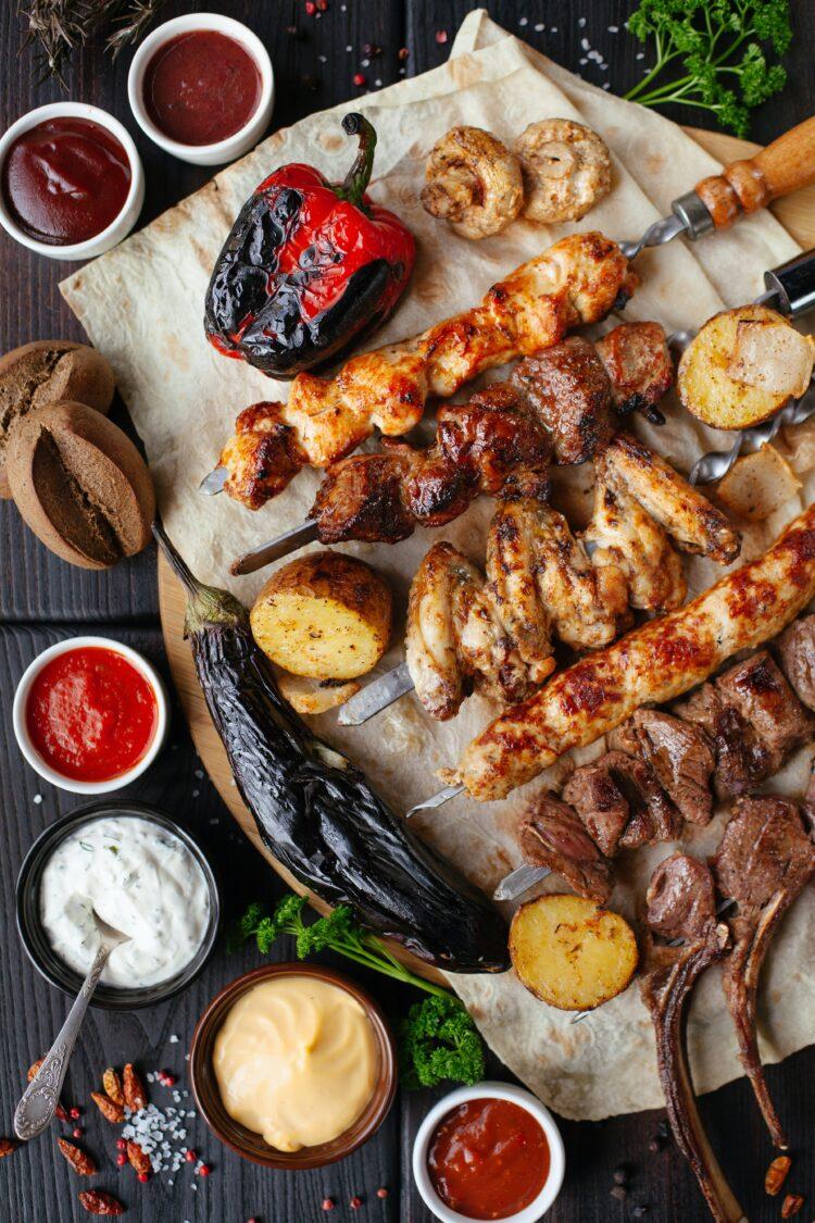 Tipos de carnes para barbacoa perfecta.