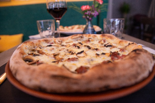 Pizza BOISCAIOLA.