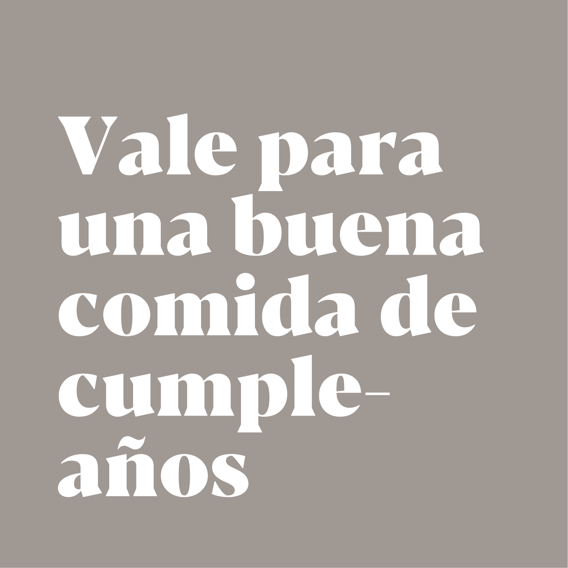 vale cumpleaños
